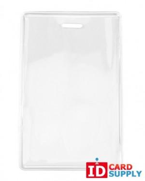 Anti-Print Transfer Vertical Badge Holder (Pack of 100)