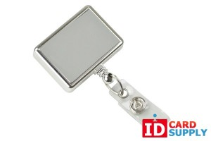 Rectangle Badge Reel (25) with Choice of Color | by Brady