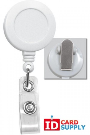 Standard ID Badge Reel | Choice of Color and Attachment Type
