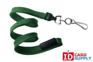 Green Swivel Hook Lanyard