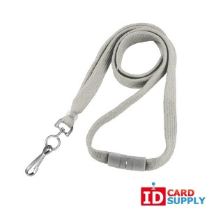 10mm White Lanyard with Swivel Hook (Pack of 100)