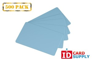 CR80 30Mil Blank PVC Cards | Pack of 500 | Choice of Color
