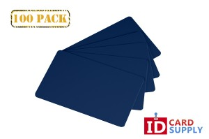Royal Blue ID Cards - Pack of 100