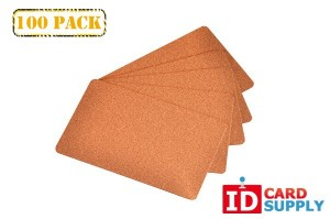 Premium Copper Standard Size PVC Cards | QTY: 100