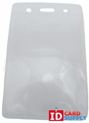 Pure Clear™ Vertical ID Badge Holder | Pack of 100