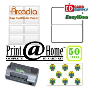 50 Card Print @ Home Kit | easyIDea