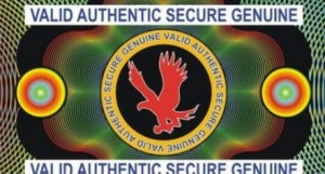 Authentic Eagle Design - Hologram with Adhesive Backing for ID Badge Security