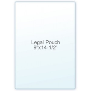 Legal Pouch Laminate