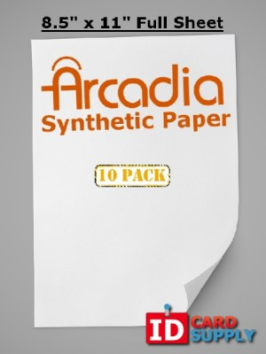 10 Pack of Arcadia Paper