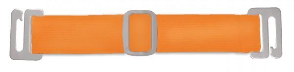 Neon Orange Badge Holder Straps