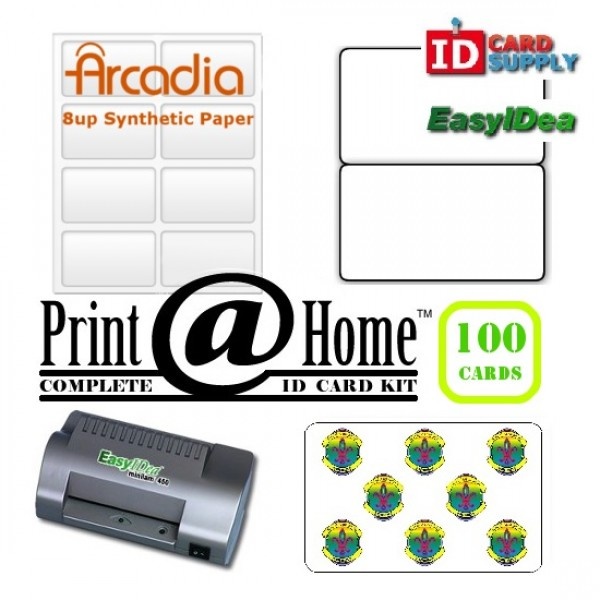 easyIDea Complete Print @ Home Kit - 100 IDs