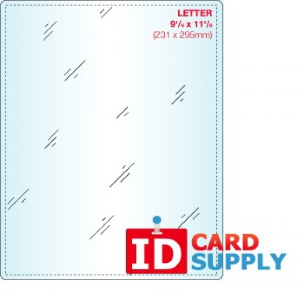 Letter Pouch Size Laminate